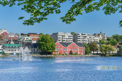 Stavanger city centre Stock Images