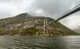 Stavanger Fjord Royalty Free Stock Photography