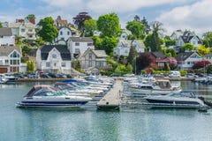 Stavanger Marina Stock Images