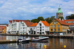 Stavanger - Noorwegen Stock Fotografie