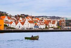 Stavanger - Noorwegen Stock Afbeeldingen
