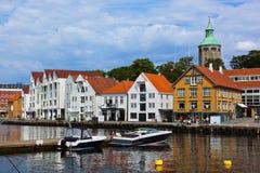 Stavanger - Norge Arkivbild