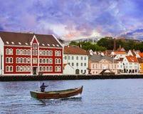 Stavanger - Norge Royaltyfri Fotografi
