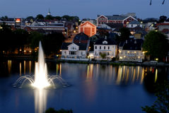Stavanger norway Obrazy Royalty Free