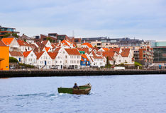 Stavanger - Norway. Stavanger Norway - architecture and travel background Stock Images