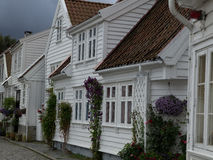 Stavanger in norway Royalty Free Stock Photos