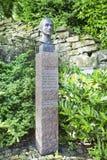 STAVANGER, NORWAY - JULY 09, 2015: Bust of Henrik Steffens (1773-1845), a Norwegian-born Danish philosopher, scientist, and poet i. Bust of Henrik Steffens (1773 Stock Image