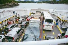 Fjord1 ferry to Bergen Norway