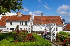Stavanger, Norwegen stockbild