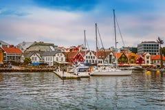 Stavanger, Norwegia miasto widok zdjęcia stock