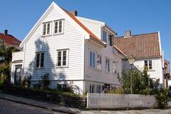Stavanger Old Town Stock Photo