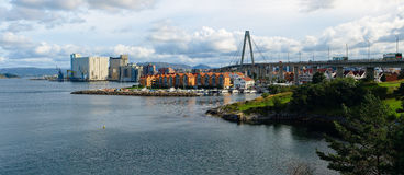 Stavanger panorama Royalty Free Stock Photos