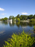 Stavanger Pond. Stavanger has several beautiful lakes, which are popular recreation areas. Breiavatnet is located in the heart of Stavanger, while Mosvatnet and Stock Photography