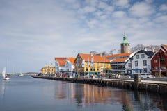 Stavanger port royaltyfria bilder