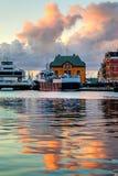 Stavanger port Royalty Free Stock Image