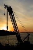 Stavanger portu żuraw 001 Obraz Royalty Free