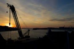 Stavanger portu żuraw 013 Obraz Royalty Free