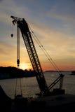 Stavanger portu żuraw 016 Zdjęcie Stock