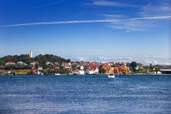 Stavanger view Royalty Free Stock Photos