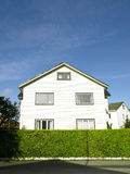 Stavanger Wood House. Typical architecture or norweigan style Royalty Free Stock Image