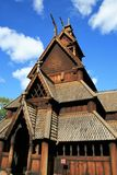 Stave church Royalty Free Stock Photos