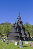 Stave church Borgund Royalty Free Stock Images