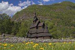 Stave church Borgund Royalty Free Stock Image