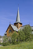Stave Church Hedalen Royalty Free Stock Photo