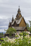 Stave Church Heddal Royalty Free Stock Photography