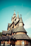 Stave Church Heddal, Norway Stock Image