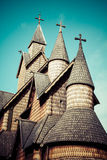 Stave Church Heddal, Norway Stock Photos