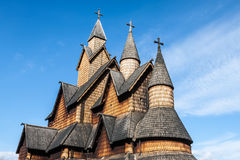 Stave Church Heddal, Norway Royalty Free Stock Image