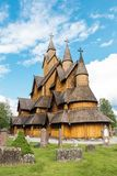 Stave Church Heddal Norway stock photos