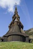 Stave Church Hopperstad immagini stock libere da diritti