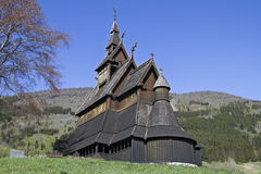 Stave Church Hopperstad Stock Photos