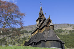 Stave Church Hopperstad Stock Images