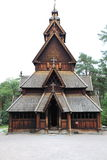 Stave church, norway Stock Photography