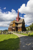 Stave Church Ringebu Fotografia Stock