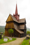 The stave church at Ringebu, built around the year 1220, is one Stock Images