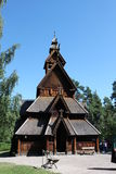 Stave Church Royalty Free Stock Images