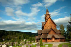 Stave church Royalty Free Stock Photo