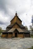 Stave a igreja, Noruega Fotografia de Stock Royalty Free