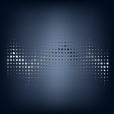 Staved prickig bakgrund för vektor abstrakt begrepp Royaltyfri Foto