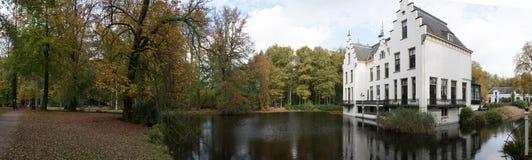 Staverden panorama Arkivbild