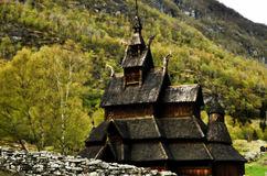 Stave church Royalty Free Stock Photography