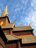 Stavkyrkje de Lom Foto de archivo