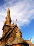 stavkyrkje för 02 lom Arkivfoton