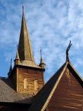 stavkyrkje för 04 lom Arkivbild