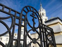 Stavropol, church, Russia Royalty Free Stock Photos