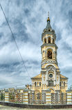Stavropol Kathedraal Andrew Pervozvannogo Royalty-vrije Stock Afbeeldingen